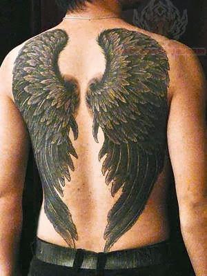 Black Wings Tattoo