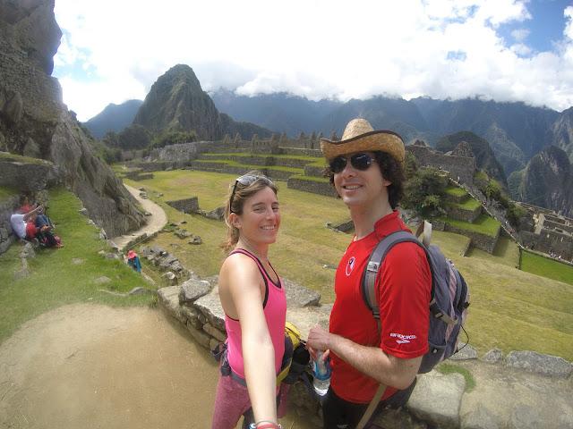 Subimos el Huayna Picchu
