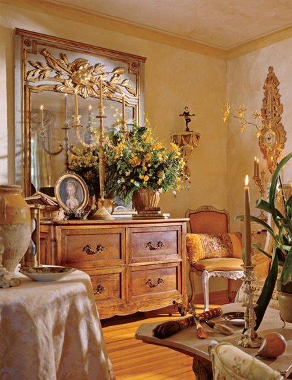 Eye for design old world interiors diane burn style for French country interior design