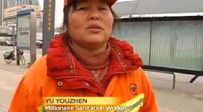 [Bisnis] Miliarder Ini Rela Kerja Jadi Tukang Sapu Jalanan