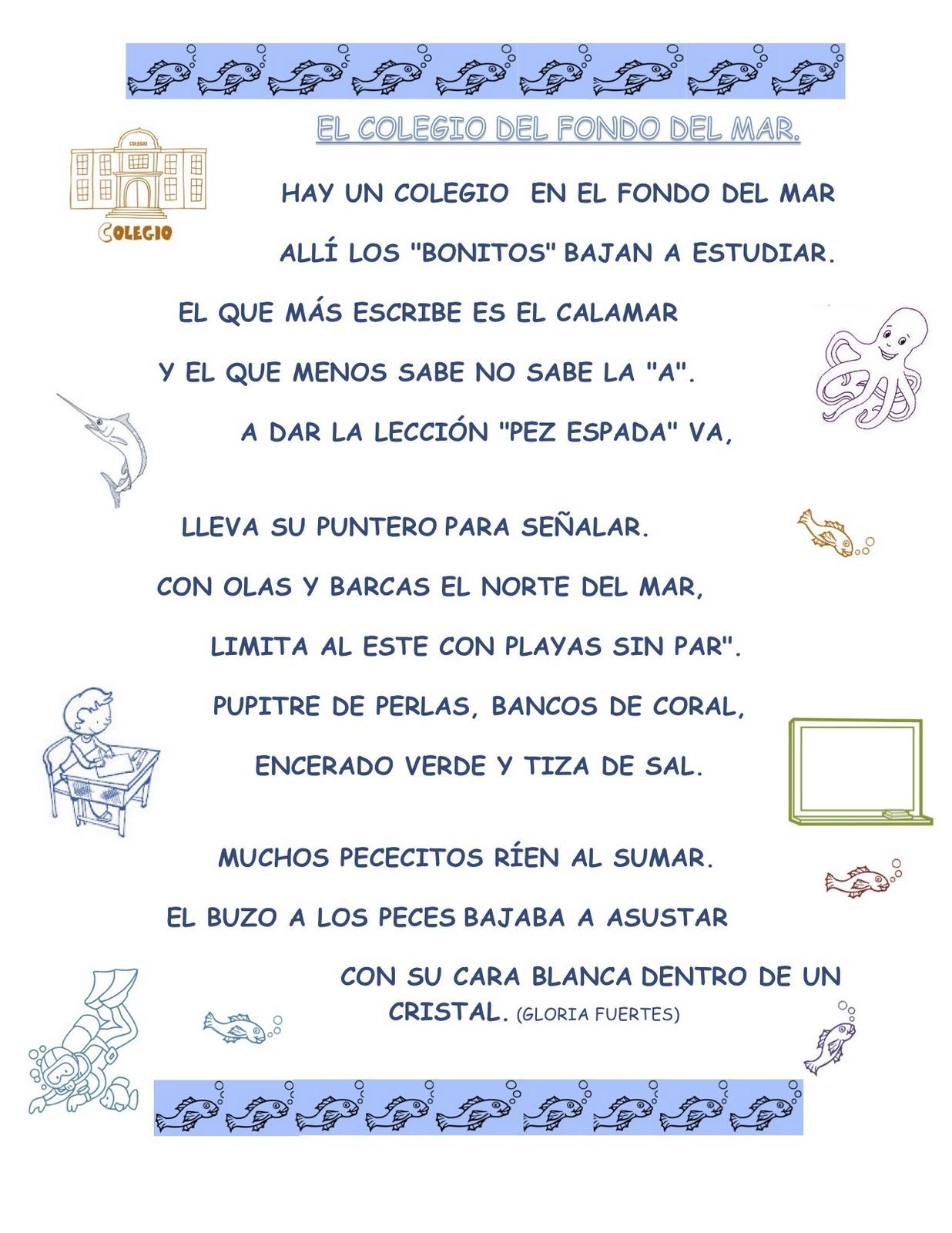 Poemas De La Escuela