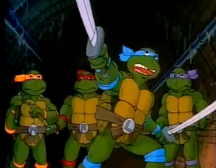 Teenage Mutant Ninja Turtles First US Animated Television  Cartoon Series adaptation of Mirage Comics creation of Kevin Eastman and Peter Laird