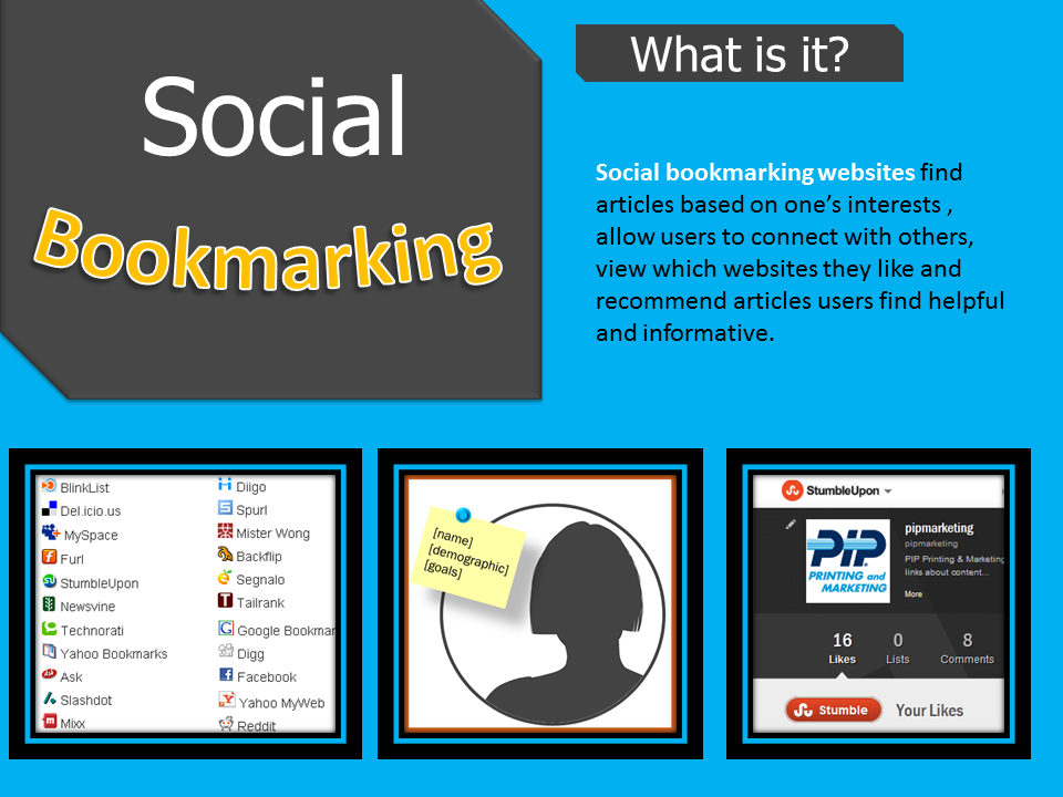 Social Bookmarking: What To Bookmark Video Tutorial Free