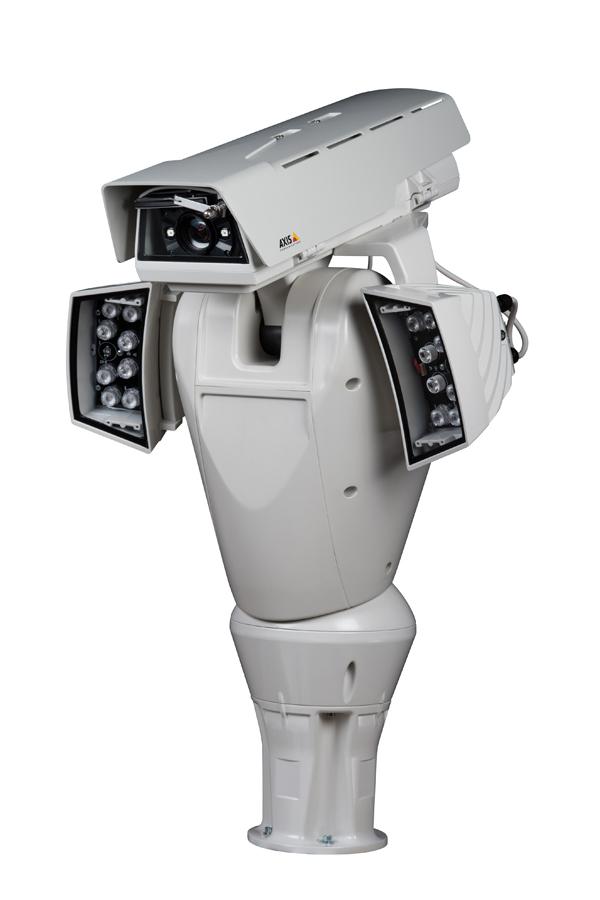 Axis-lanza-cámara-robot-monitorear-tráfico-carreteras