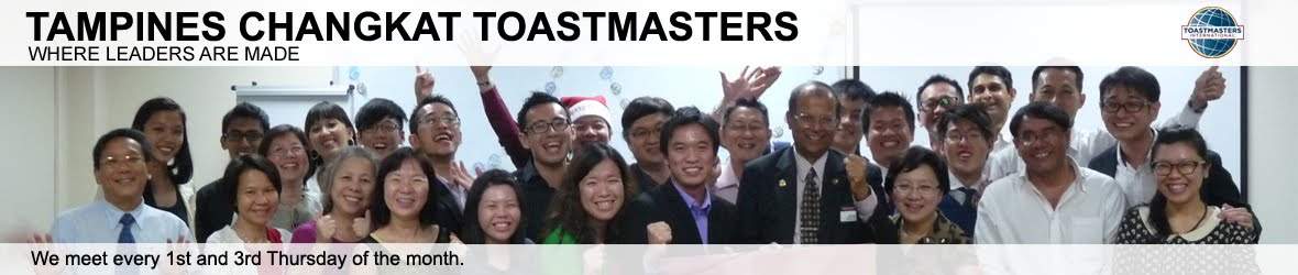 Tampines Changkat Toastmasters