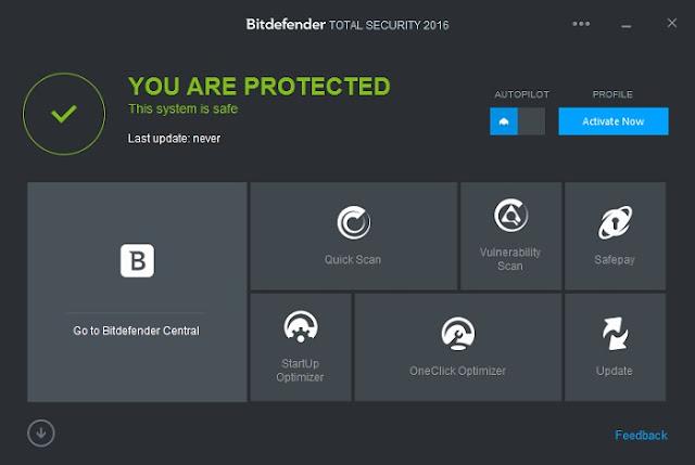 Bitdefender Internet Security 2016 Free Download