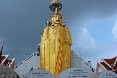 Wat Indra Viharn - Grande Buda - Bangkok