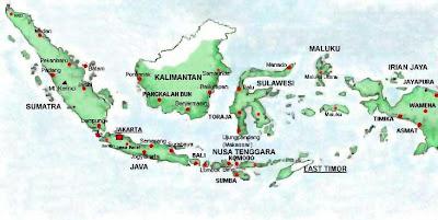 Peta Indonesia - NKRI