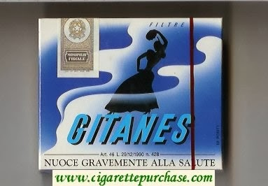 Buying cigarettes Gitanes cheap