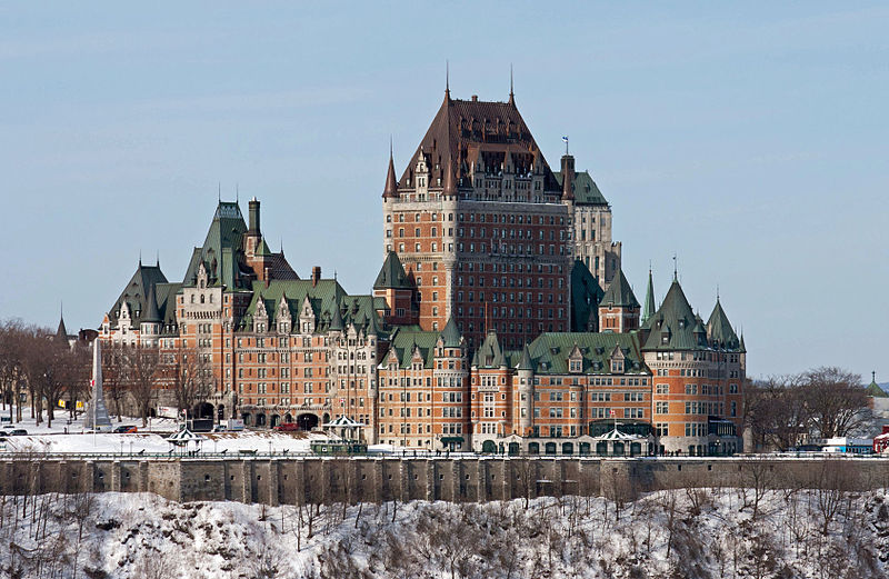 Château Frontenac, Old City of Quebec