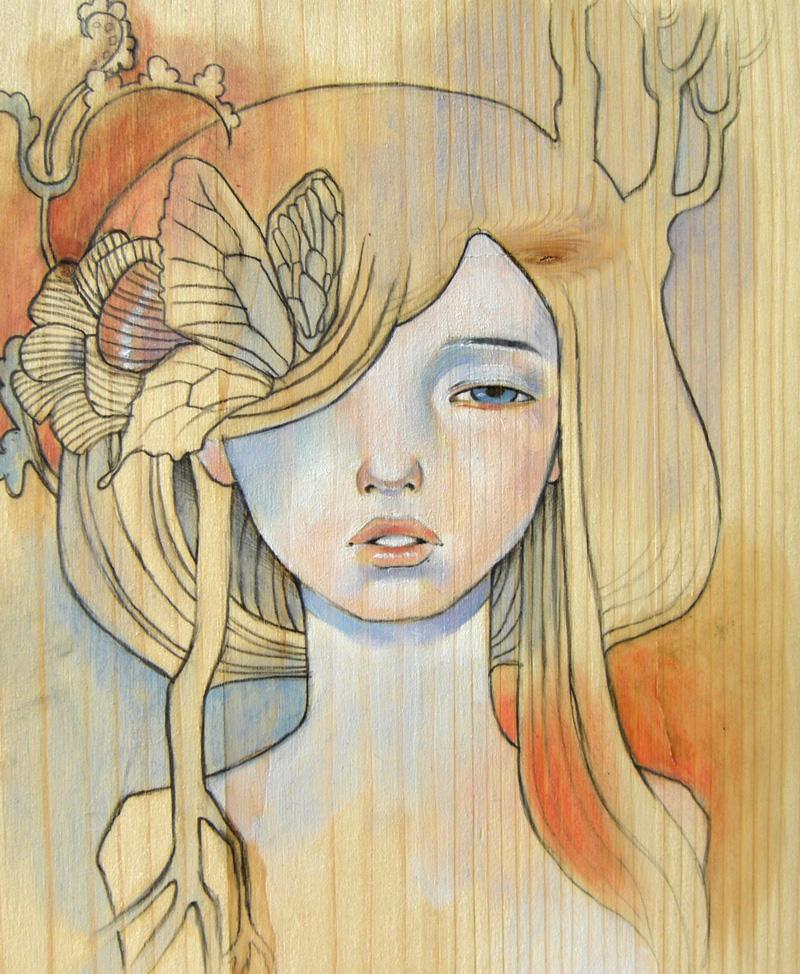 Audrey Kawasaki Girl