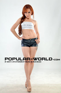 hot Tike Diah Febrian for Popular World Magazine, May 2012