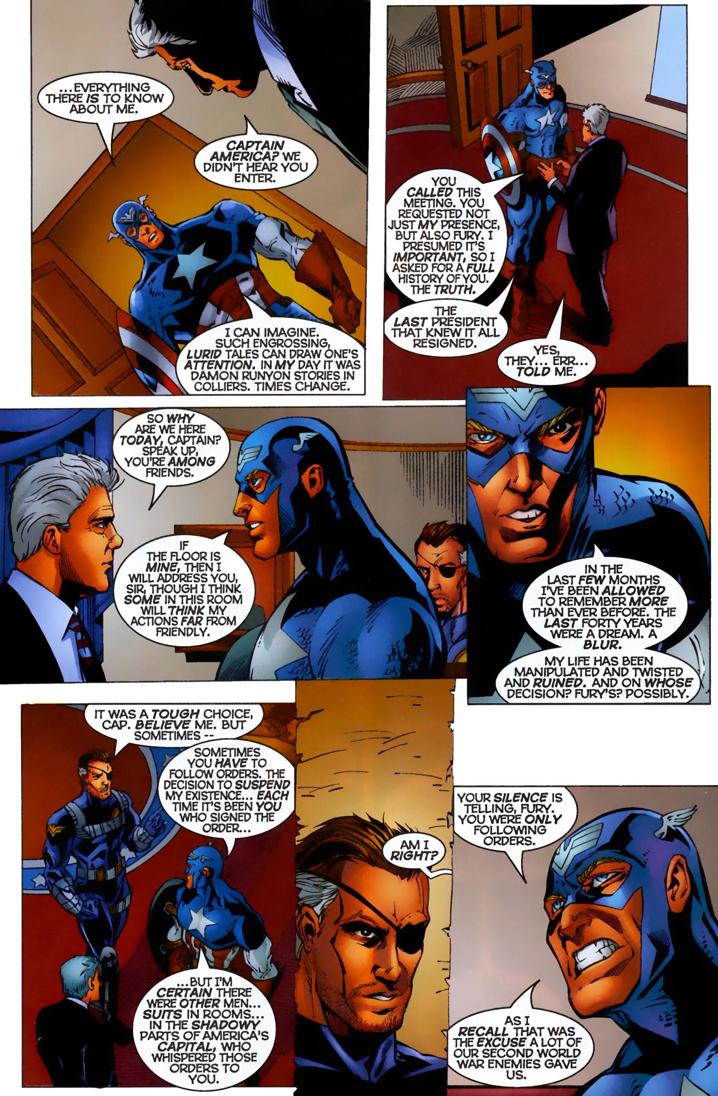 Captain America (1996) Issue #7 #7 - English 16