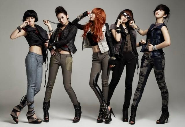 Personil Girlband Korea Tercantik - 4minute
