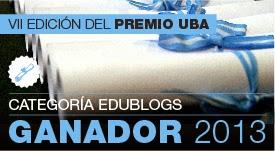 Premio UBA Blog 2013