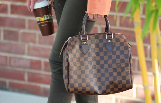 louis vuitton damier speedy bag handbag price