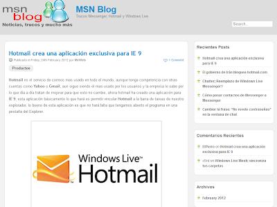 MSN Blog