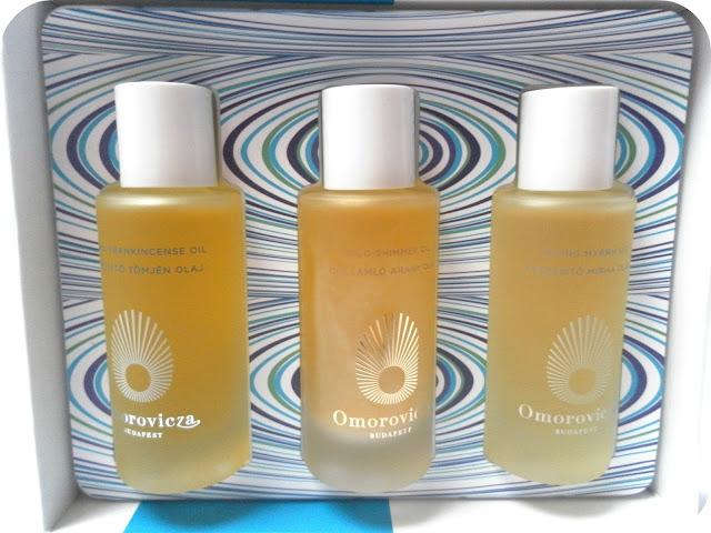 Omorovicza Blissful Treatment Oils Set
