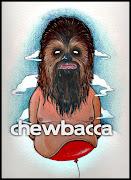 Personajes Star Wars. Serie de ilustraciones de los personajes de la .