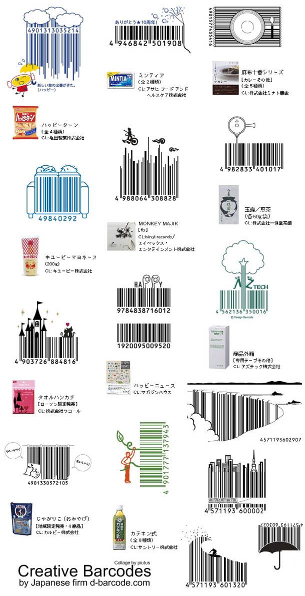 códigos de barras originais