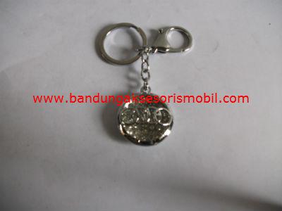 Gantungan Kunci Berlian+Logo Audi