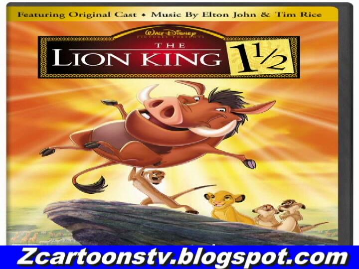 the lion king 1 u00bd in urdu