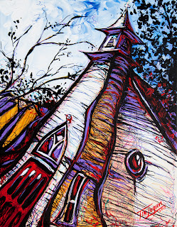 St James Episcopal in Eureka Springs by Tim Logan