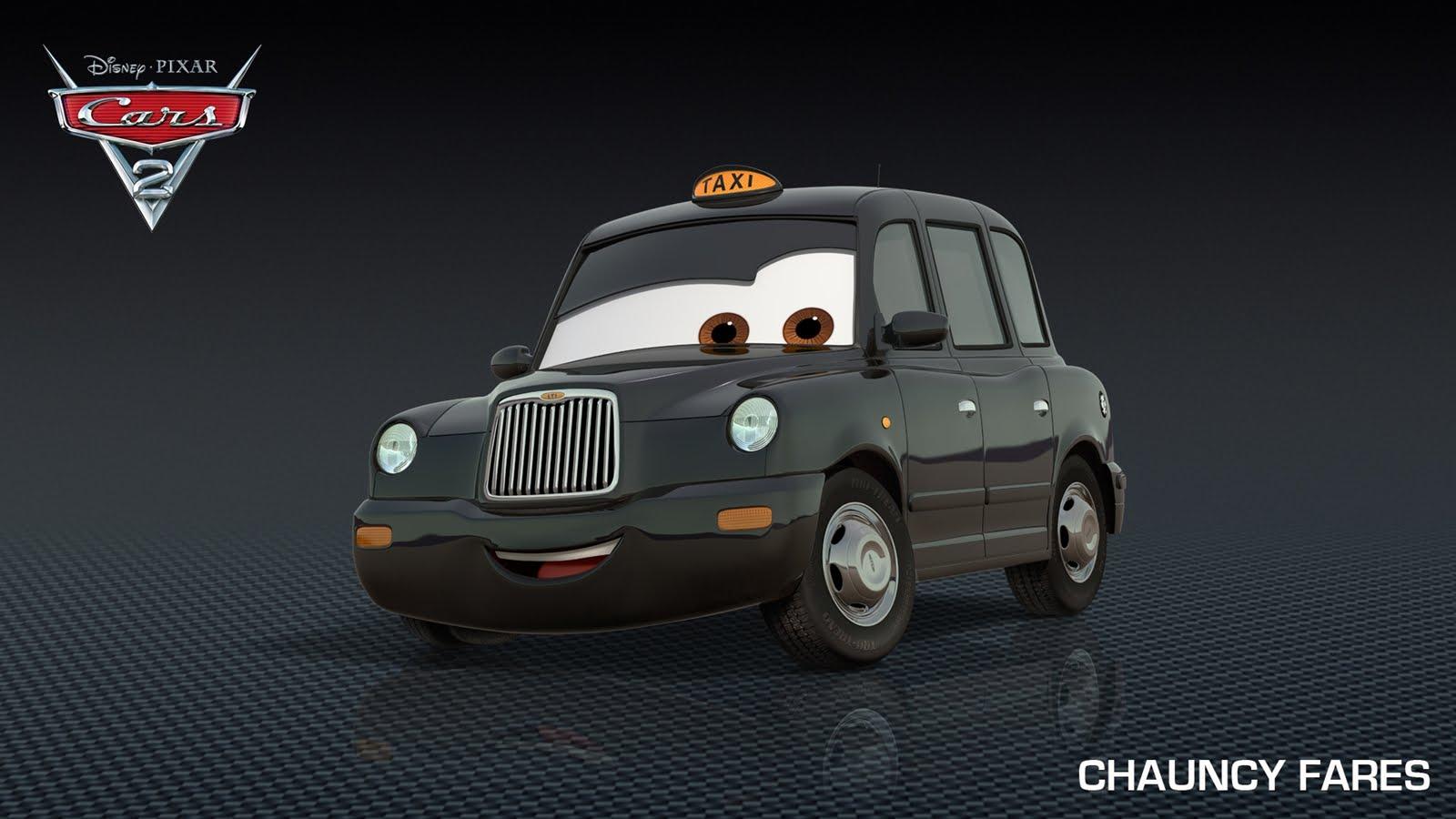 Chauncy fares es un taxi negro de londres que sabe cualquier lugar