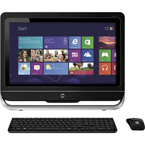 HP Pavilion 23-f254 TouchSmart 23-inch Touch-Screen All-In-One Computer Review