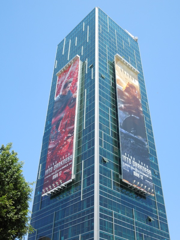 Star Trek Into Darkness billboards