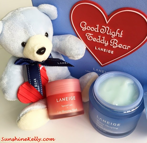 Laneige Waterful Sharing Campaign 2015, laneige malaysia, laneige, water harvesting, Laneige Goodnight Teddy Bear, laneige teddy bear, Malaysian Environmental NGOs, water sleeping mask, lip sleeping mask