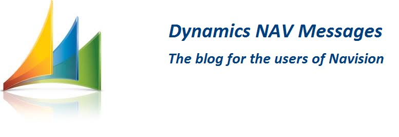 Dynamics NAV Messages