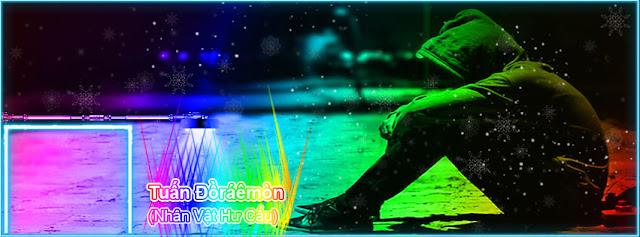 Share PSD Ảnh bìa Tên sáng 7 màu