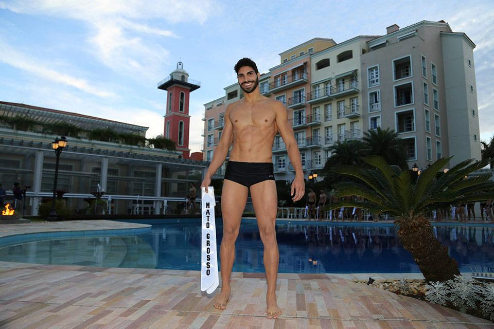Mister Mato Grosso - Herbert Penze, 20 anos, 1,88 m - Foto: Leonardo Rodrigues