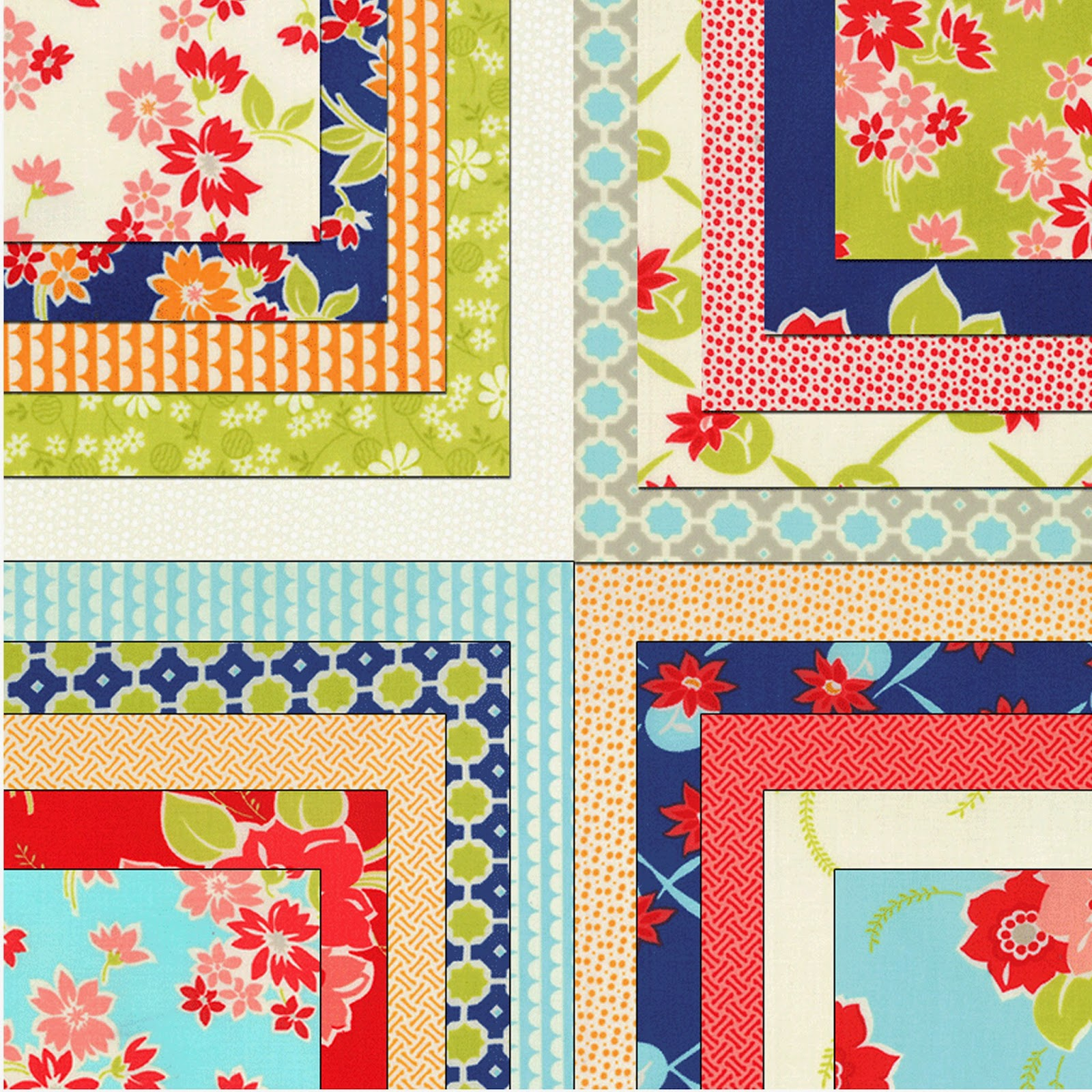 Moda MISS KATE Prints Flannels Quilt Fabric by Bonnie & Camille for Moda Fabrics