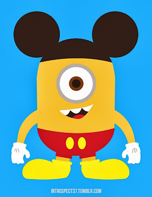 Mickey mouse minion
