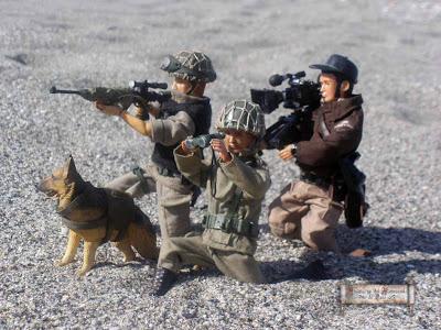 continuación:Reconocimiento de zona, Operación Playa.