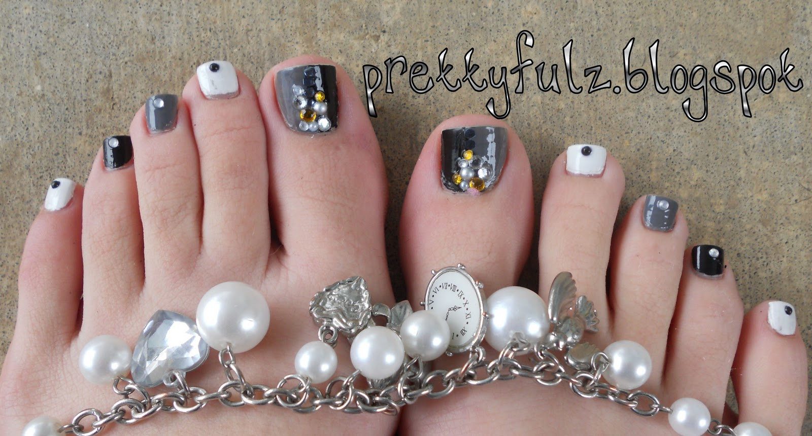 Pretty Feet... Pedicure Nail Art Designs : Everything About Fashion ...