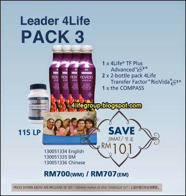 foto Leader 4Life Pack 3 4Life Malaysia