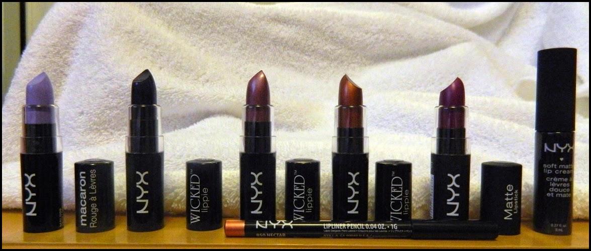 NYX Lippies