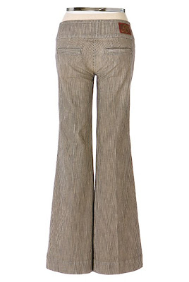 Anthropologie White Glove Trousers
