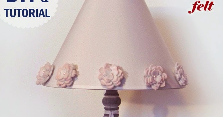 Hobbybel creativit lampada shabby chic fai da te con - Tovaglie shabby fai da te ...