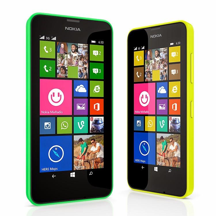 Harga Dan Spesifikasi Nokia Lumia 630 Dual Sim, Lumia Pertama Dengan Windows 8.1