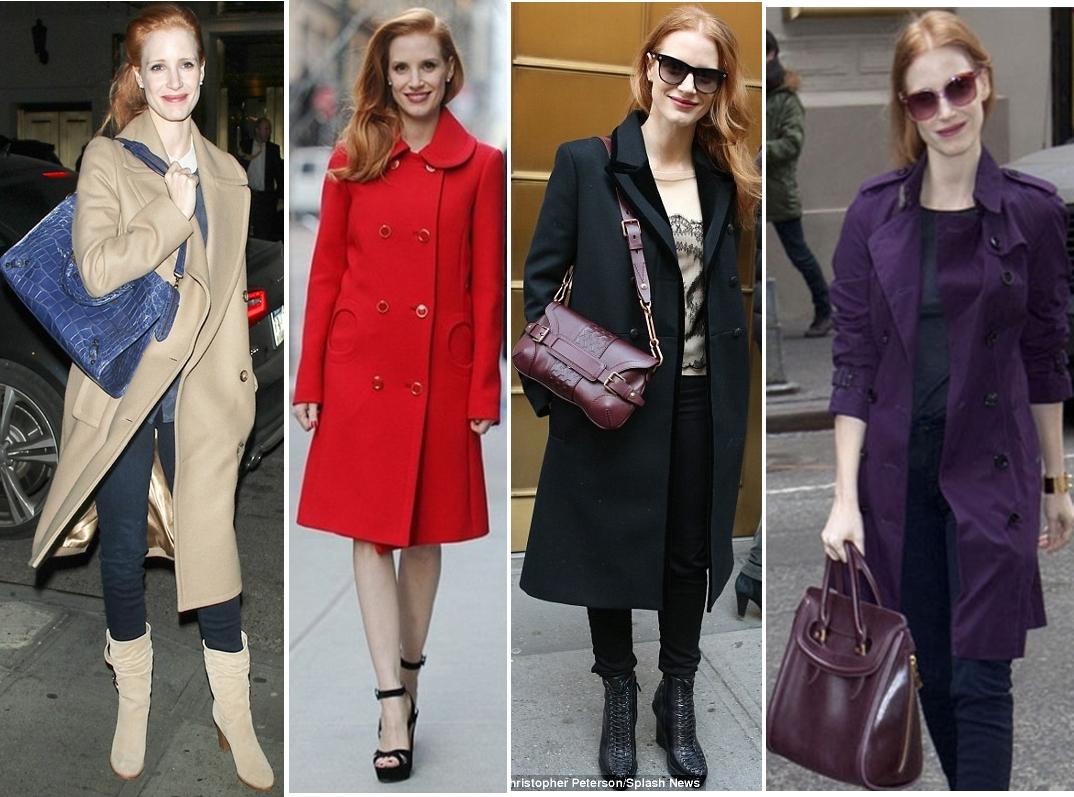 Gucci 2013 kış palto ve çanta