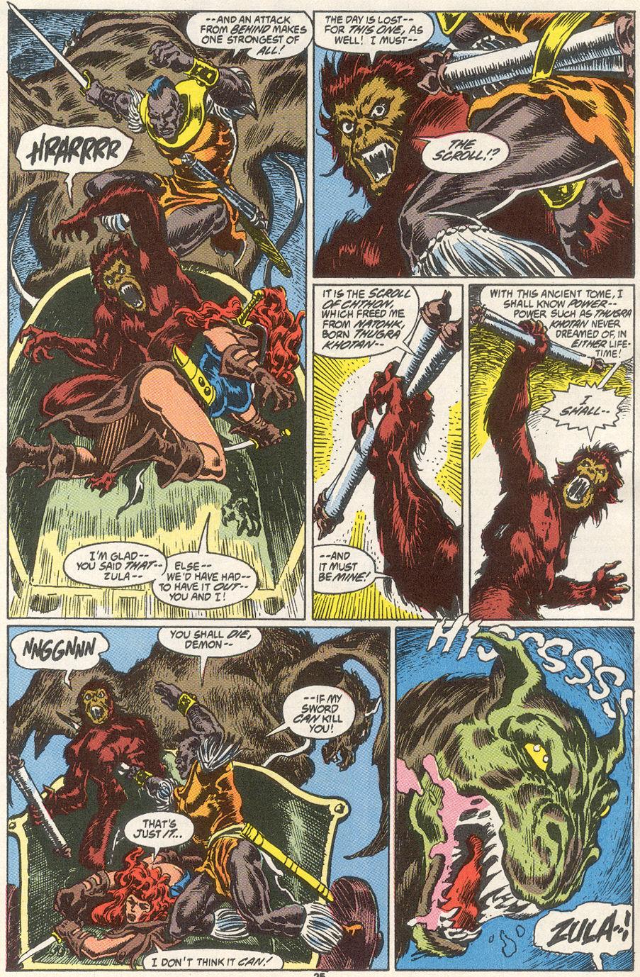 Conan the Barbarian (1970) Issue #249 #261 - English 20