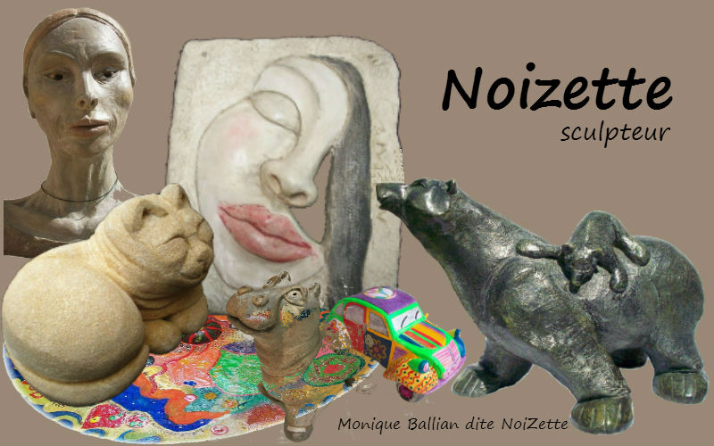 Monique Ballian - NoiZette sculpteur animalier chez xyz