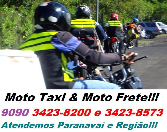 Moto Taxi & Moto Frete Profissional