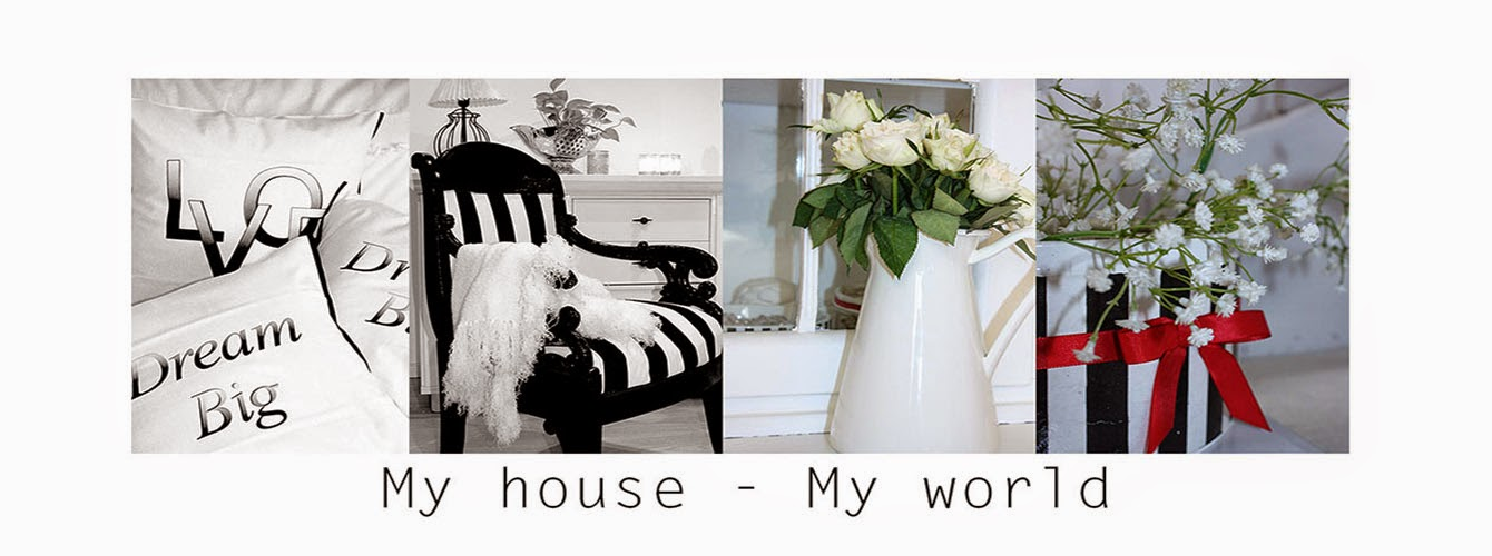 My house - my world