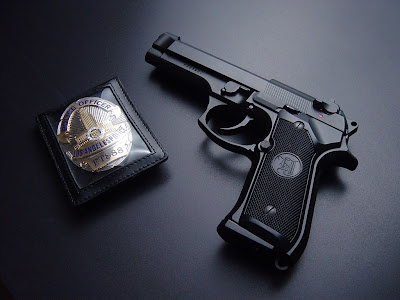 Los Angels Police - Weapon Gun Wallpapers