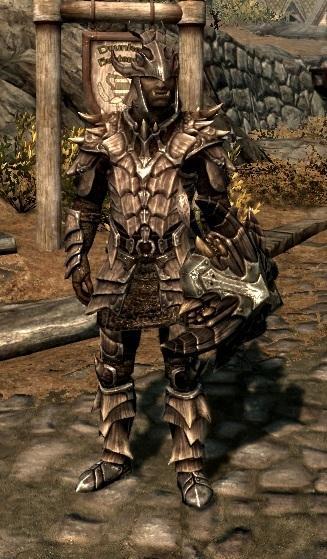 Skyrim Light Dragon Armor Wip skyrim inspired massDragonscale Armor Skyrim Argonian